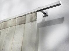 Bastone per tende in alluminio in stile moderno PASITEA Collezione Alluminio by Scaglioni | design Scaglioni