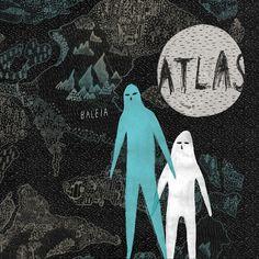 """""""atlas"""", baleia."""