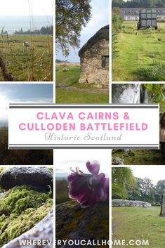 Our next stop on our Highland/West Coast Scotland Road Trip was the year-old Clava Cairns and the century Culloden Battlefield. Scotland Road Trip, Places In Scotland, Scotland Travel, Ireland Travel, West Coast Scotland, Cairns, Travel Goals, 18th Century, Places To Travel