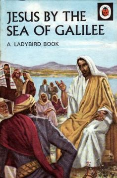 JESUS BY THE SEA OF GALILEE Vintage Ladybird Book Religious Stories Series 522