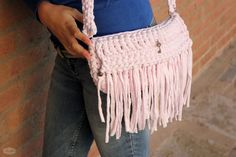 Handbag Olivia, handmade by Madila with eco friendly Tshirt yarn, Zpagetti or Trapillo  https://www.etsy.com/uk/listing/206219626/handbag-olivia-handmade-with-eco?ref=shop_home_active_7