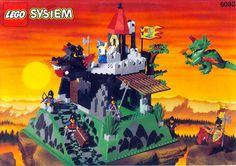 New LEGO Castle sets for Is this the era of the return of LEGO Classic Castle? Check out what's coming for LEGO Castle in Lego Vintage, Chateau Lego, Lego Dragon, Best Lego Sets, Big Lego, Lego Knights, Lego System, Lego Castle, Bros