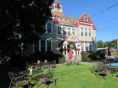 Old Schoolhouse Inn & Restaurant in Downsville, New York.