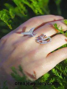 Cubic Zirconia Jewelry Fish Bone Sterling Silver Ring With Cubic Zirconia Sterling Silver Jewelry, Silver Earrings, Hammered Silver, Buy Gold Jewellery Online, Italian Gold Jewelry, Unicorn Necklace, Silver Gifts, Necklace Online, Jewelry Design