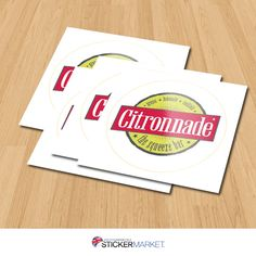 Use stickers to promote your products! #labels #stickerprinting #sticker #uk #london
