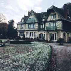 Wintertime at Hotel Le Manoir des Impressionnistes - Honfleur, Normandy, France