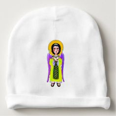 Shop YELLOW Angel - funny/cool design Baby Beanie created by coloranda. Best Baby Gifts, Baby Design, Baby Hats, Personalized Gifts, Duvet Covers, Pattern Design, Cool Designs, Beanie, Cool Stuff