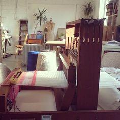 Bristol Textile Qtr @BrisTexQtr @BBxD_ our shared textile&fashion makerspace #idesignhere #studioshot #bristol #makerspace