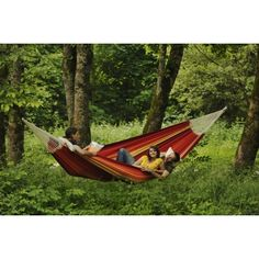 Byer of Maine Gigante Hammock Family Size - Lava Red