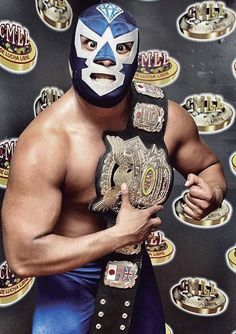Domingo - El Universal – Revista semanal - Entre máscaras Blue Demon, Luchador Mask, Mexican Wrestler, Lucha Underground, Wwe Tna, Masked Man, Fun Shots, Professional Wrestling, Champs