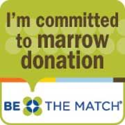 Be The Match. Get involved!  BeTheMatch.org
