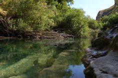 Riserva naturale orientata Cavagrande del Cassibile (Siracusa, Sicilia, Italia) - Nature reserve Cavagrande Cassibile (Sicily, Italy)