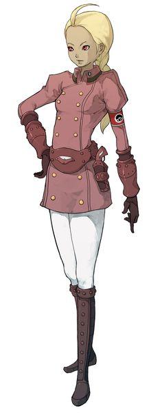 Kat (Military) from Gravity Rush