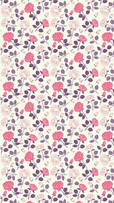 65 New Ideas for wallpaper iphone vintage floral roses Pop Art Wallpaper, Flower Background Wallpaper, Flower Phone Wallpaper, Wallpaper Iphone Cute, Flower Backgrounds, Cellphone Wallpaper, Galaxy Wallpaper, Pattern Wallpaper, Cute Wallpapers