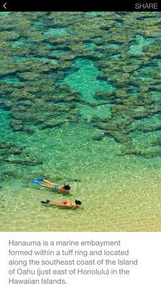Hanauma Bay, Hawaii