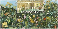 'The Little Gardener, 'Emily Hughes (Flying Eye Books)