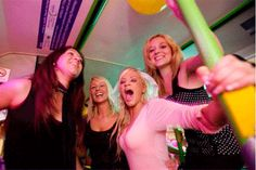 A  hen party bus is a fantastic way to celebrate a hen party ! Equipped with a state of the art sound system and a party atmosphere, your party never has to stop.  A wild and  kickoff day to you and your group. http://www.henit.ie/day-activity/party-bus/