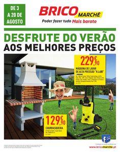 Desfrute do verão aos melhores preços 03/08/2015 a 20/08/2015 Bricomarché