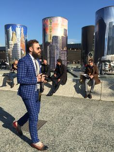 #mensstyle #mensfashion #menfall #fallfashion #bearded #suits