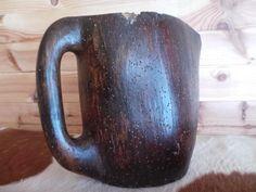 PICHET Savoyard ancien bois Art populaire deco chalet montagne -