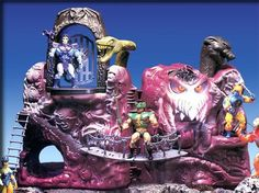 Snake Mountain - Evil Stronghold of Skeletor: He-Man: Masters Of The Universe [1984]