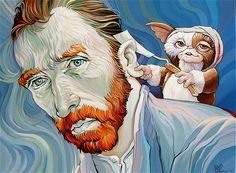 """Gizmo Vangogh"" by Dave MacDowell Studios, via Flickr"