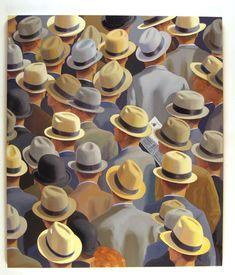 Back Pages. Greg Drasler. Oil on canvas. 2005.