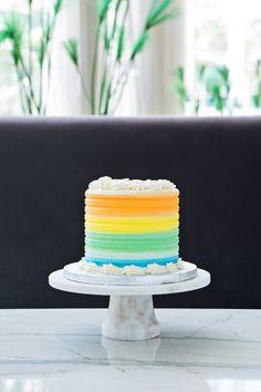 Cake - Rainbow #SweetnessAtChezBonBon #Miami #Fontainebleau