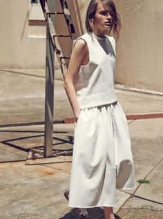 Maddison Brown by Beau Grealy for Elle Australia February 2014