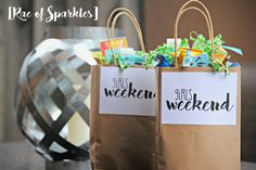 Girls Weekend Gift Bags