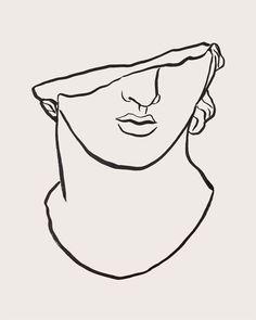 statue Study I, Sumi on newsprint, by Tristan b. - architecture and art -Greek statue Study I, Sumi on newsprint, by Tristan b. - architecture and art - Statue Tattoo, Tattoo Drawings, Art Drawings, Tattoo Sketches, Greek Statues, Angel Statues, Buddha Statues, Stone Statues, Art Et Illustration