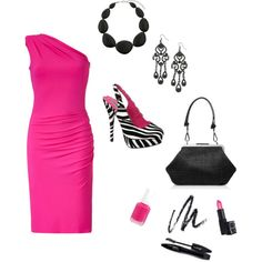 Perfectly Pink, created by missy-pence-atkins.polyvore.com