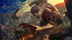 Attack on Titan [AMV] animals-maroon 5