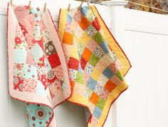 Cute quilt, but even better, a quilting guide! I have much to learn!