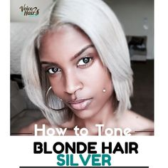 ON THE BLOG| Dreaming of silver hair? Licensed cosmetologist @TheDolledUpDiamond, walks us through the process of toning her ash blonde tresses to icy silver Check out her detailed tutorial on VoiceOfHair.com ========================= Go to VoiceOfHair.com =========================