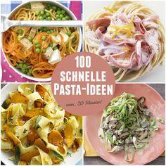 Findest du, Pasta geht immer? Hier gibts die schnelle Nudelei für unter der Woche!