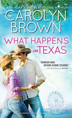 """Carolyn Brown brings her unique voice to this tale of twin sisters finding  love in a small Texas town  Cathy Andrews's biological clock has passed the ticking stage and is  dangerously close to """"blown plumb up"""". While her twin sister Marty thinks  settling down with one man is just a waste of good cowboys, Cathy wants it  all: the perfect husband, the baby, and a little house right there in  Cadillac. But even as the town is laying bets on whose wedding will be  next, Cathy doesn't see…"""