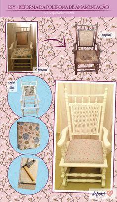 reforma de cadeira antiga