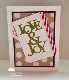 Stamp Set(s):Petite Pairs, Love & Joy Paper:Season of Joy DSP, Silver Glimmer Paper, Early Espresso, Whisper White Ink:Old Olive, cherry Cobbler Tools: Mat Pack, Paper Piercer, Paper Snips, Simply Scored, Envelope Punch Board Adhesives: Snail,  Dimensionals