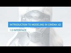 1.0 Interface in Cinema4D - YouTube
