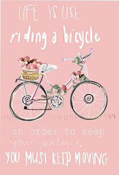 Keep moving, always!