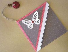 Marque-page.scrap origami