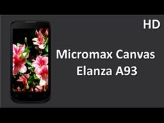 Micromax Canvas Elanza A93 launch with 5 Inch Display , 1.3Ghz Dual Core, Price Specification