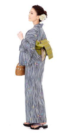 【特選浴衣】小袋帯3点set 24-OB14-HG601set | 浴衣屋さん.com 19,500 円