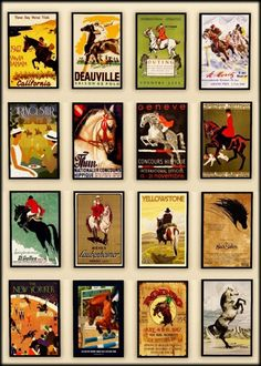 Equestrian Posters Set 1 by X-tina - Sims 3 Downloads CC Caboodle