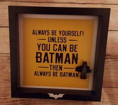 carte d'anniversaire Batman anniversaire batman par FramesToGo
