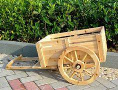 Garden Accent Wagon Planter