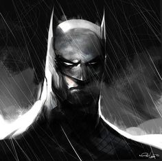 Pat Lee - Batman sketch