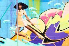 Solange in Harper's Bazaar By Julia Noni.