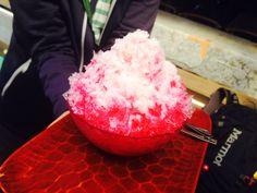 大菩薩峠のかき氷 2014.9.21